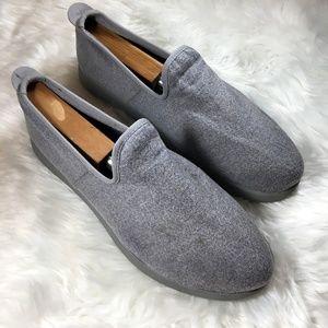 Allbirds Mens Gray Wool Lounger Slip On Shoes